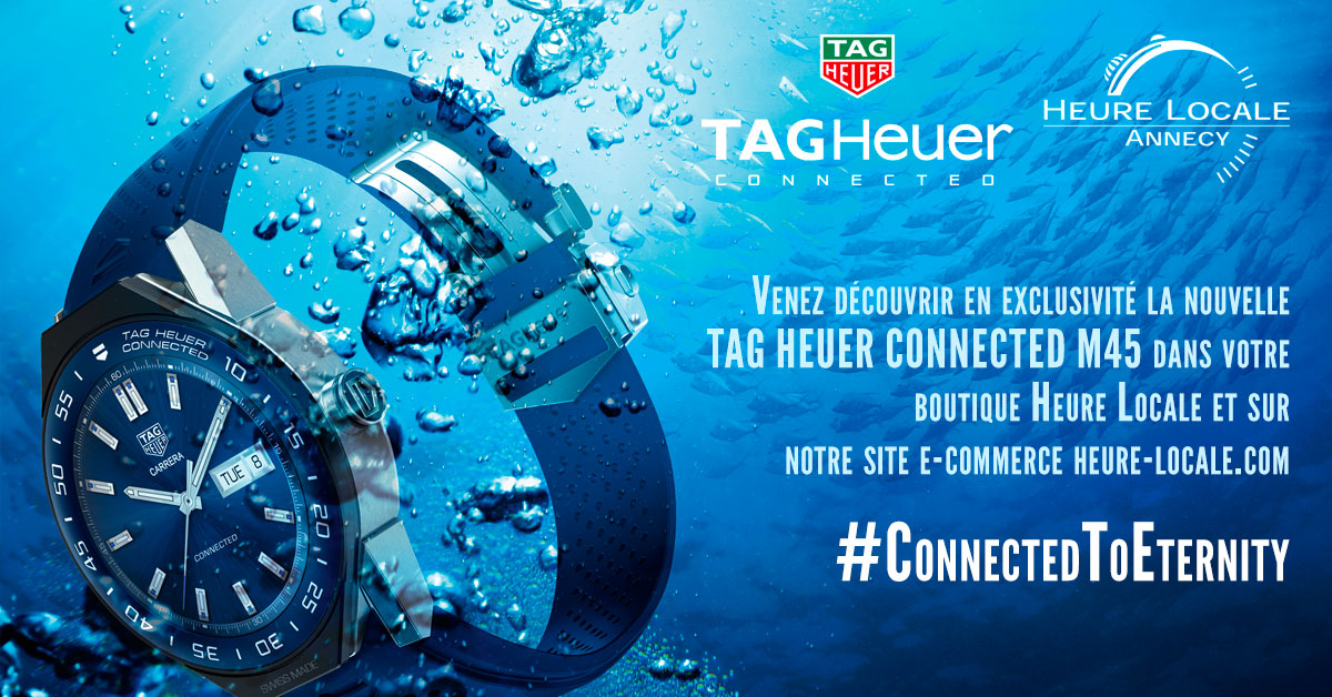 B. TAG HEUER CONNECTED MODULAR 45 (2)