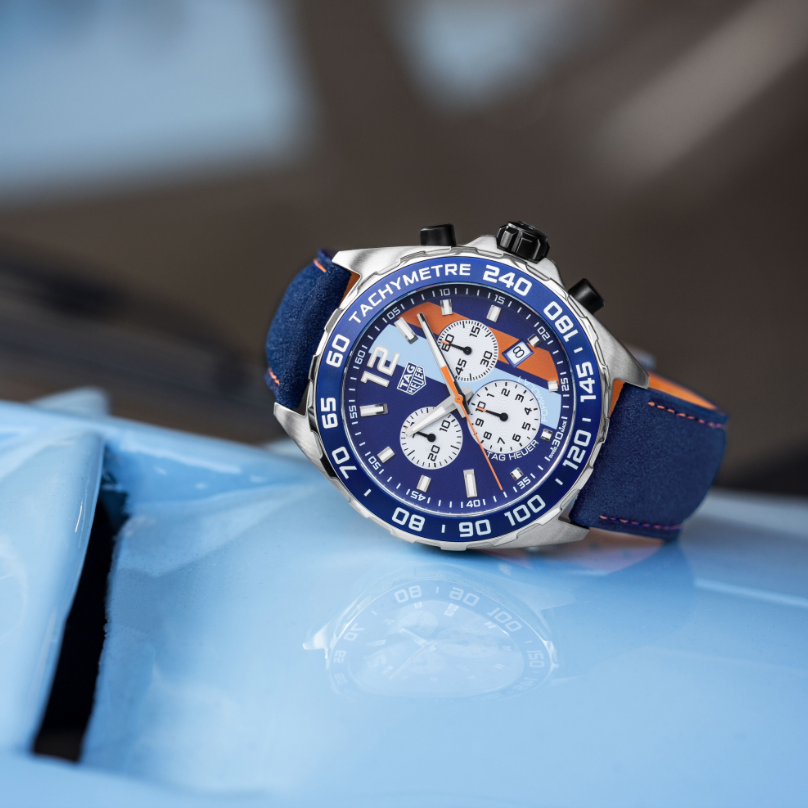 montre tag heuer formula 1 gulf chronographe caz101nfc8243 heure locale annecyheure locale annecy. Black Bedroom Furniture Sets. Home Design Ideas